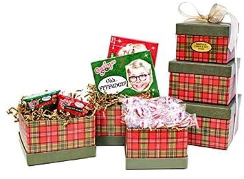 Christmas fudge gift baskets