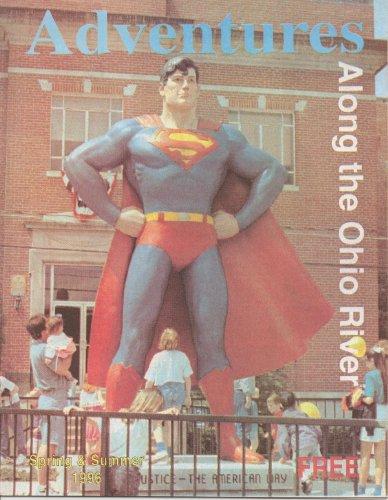 1996 Superman Statue Cover Adventure Magazine