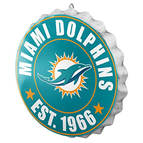 Miami Dolphins 2016 Bottle Cap Wall ()