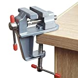 Vivian Mini Table Bench Vise Swivel Lock Clamp Craft Hobby Craft Repair Tool