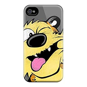 High Quality Danlder Hobbes Skin Case Cover Specially Designed For Iphone - 4/4s