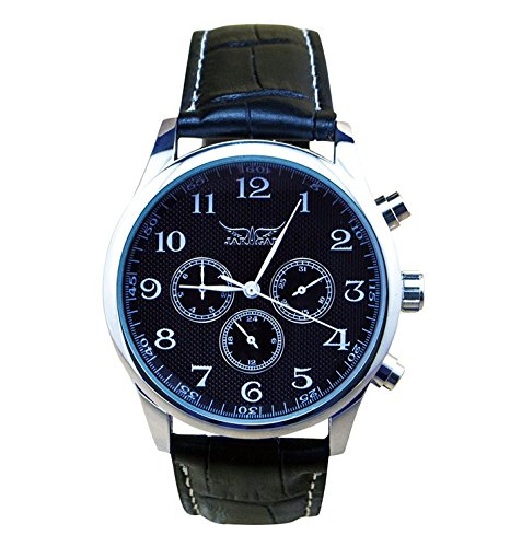 52297a380 Carrie Hughes Mechanical Waterproof CH098. Review - Carrie Hughes Men's  Black Automatic Watch ...