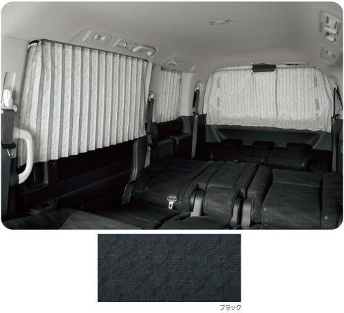 HONDA STEPWGN ホンダ ステップワゴン【RK1 RK5】 カーテンセット(ステップワゴン用)【ブラック】 B00C1VX738