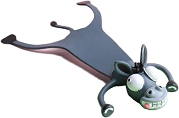 Wacky Bookmark for More Fun Reading 3D Stereo Cartoon Lovely Animal Bookmark Wacky Bookmark Novelty Bookmarks