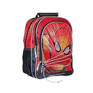Spiderman Spider Attack Mochila Juvenil, 36 cm, Color Rojo: Amazon.es: Equipaje
