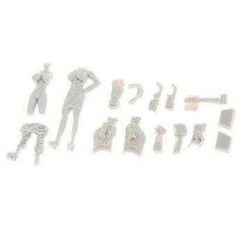 P Prettyia 1:35 Kits De Modelos De Figuras De Resina Oficial ...
