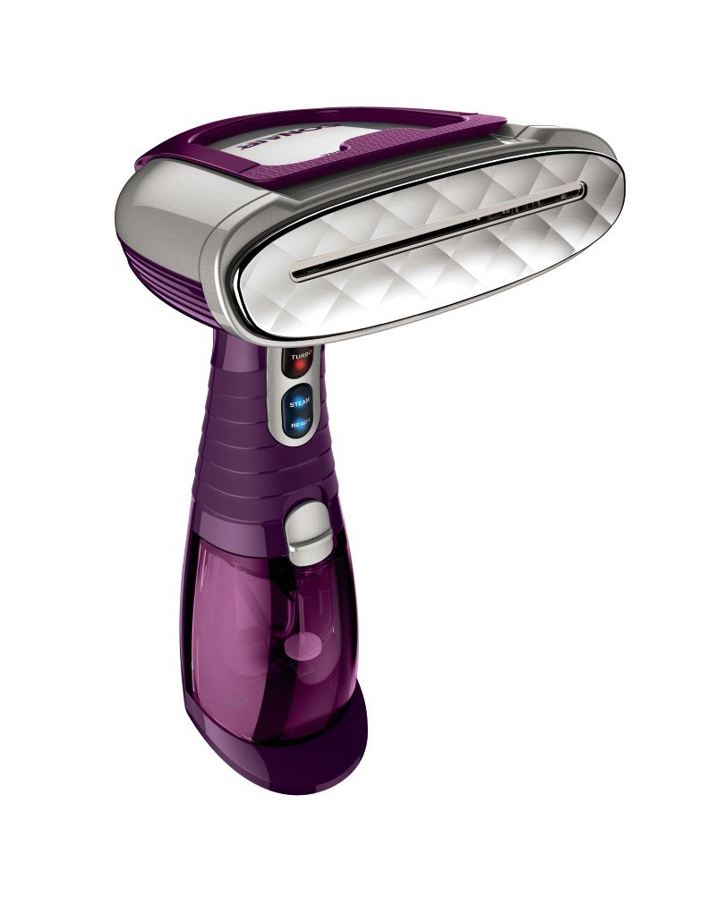 Conair Turbo Extreme Steam Hand Held Fabric Steamer; Plum with Bonus Travel Fabric Shaver - Amazon Exclusive GS37AMZ