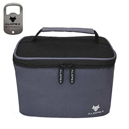 ALOPEX Insulated Reusable Cooler backpack