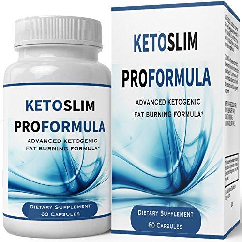 Keto Slim Pro Advanced Weight Loss Formula | Keto Slim Diet Pills Weight Loss Supplement - Extreme Weightloss Lean Fat Burner | Pastillas for Women Men Natural Diet Supplement 60 Count by nutra4health LLC