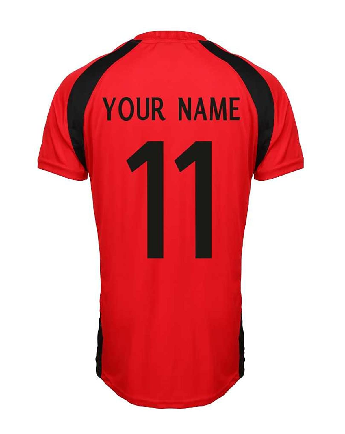 Manchester United F.C Personalised Junior to Adults Size Football T-Shirt