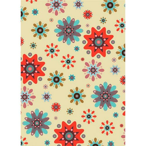 Printed Photography Background Nice design with flowers Backdrops Modern Titanium Cloth TC7769 10'x20' Ft (120''x240'') Backdrop Better Then Muslin or Canvas by PHOTOGRAPHY OUTLET