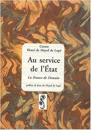 Téléchargement Au service de l'État. La France de Demain pdf, epub