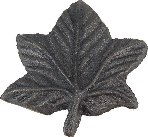 Atlas Homewares 2203-I 1-3/4-Inch Leaf Knob, Iron