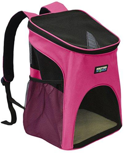 KritterWorld Pet Carrier Backpack Small Dogs, Puppies,...