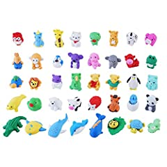 Product information:Pack of 40 animal erasers.Warm warn:Erasers are small objects, pay attention to stay away from children's mouths.Interesting childhood:Children can learn about many small animals in the animal world and share them with oth...