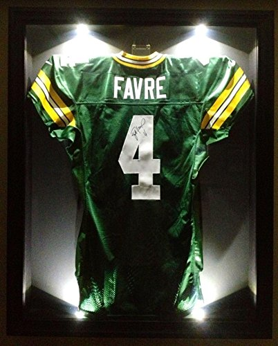 new style 9955c cdcf1 Autographed Brett Favre Jersey - Team Issued Pro Game COA ...
