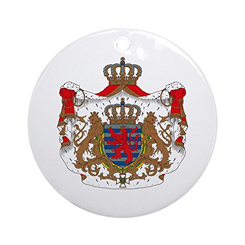 CafePress Luxembourg Coat of Arms Ornament (Round) Round Holiday Christmas Ornament