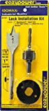 Eazypower 30161 Lock Installation Kit (3 Piece), 1-7/8'' x 1''