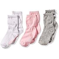 Robeez Baby-girls Newborn 3 Pack Basics, Assorted, 0-6 Months