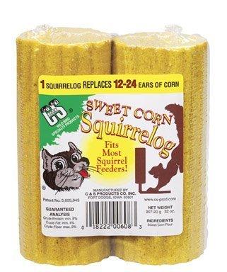 - Sweet Corn Squirrelog Refill