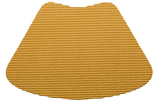Kraftware 35339 Fishnet Placemat Dz., Wedge, Golden