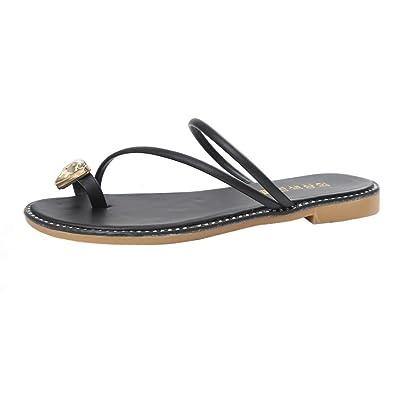 5a886bf9f89c29 Lolittas Women Leather Flip Flops Thong Sandal