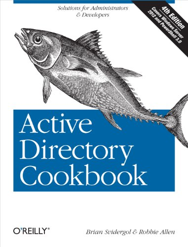 Download Active Directory Cookbook (Cookbooks (O'Reilly)) Pdf
