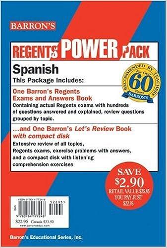 Spanish Regents Power Pack