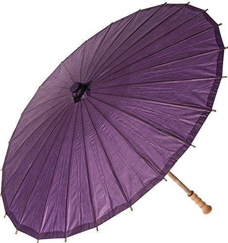 Bazaar Parasol 32 Inch Aubergine Purple