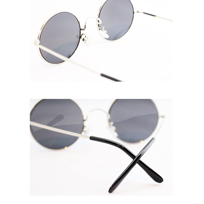 eight tokyo エイトトウキョウ UVカット メタル 丸メガネ サングラス 鯖江メーカー企画 メンズ レディースの画像