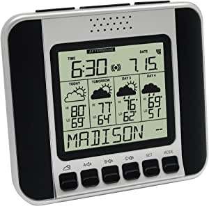 La Crosse Technology WA-1140U Weather Direct 4-Day Talking Internet-Powered Wireless Forecaster