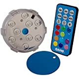 "GAME 4306 3"" Color Changing Pool Wall Light with Remote"