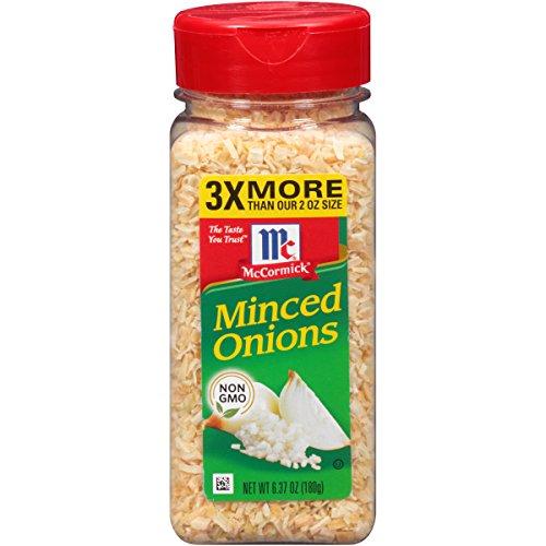McCormick Minced Onions, 6.37 Ounce ()