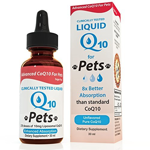 Stay-Well Pets Liquid CoQ10 For Pets, 30 ()