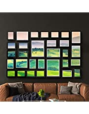 3/11/17/23/26/30 PCS Photo Frame Wall Set Collage Picture Frames Hanging Home Decor Gift