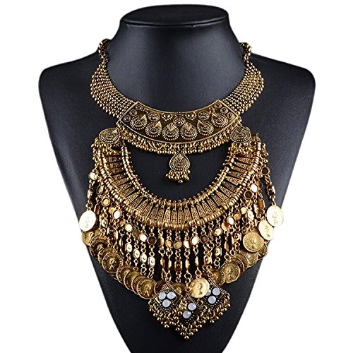 Necklace Egyptian Costume Accessory - 9