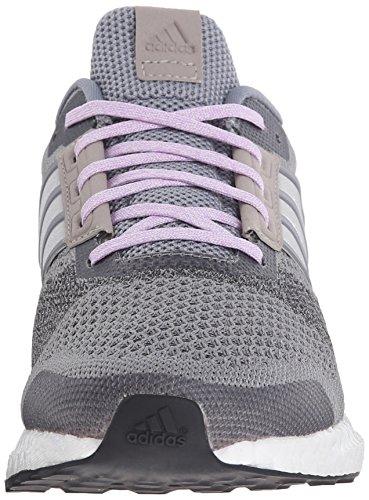 Scarpa Da Running Adidas Performance Donna Ultra Boost Per Strada Grigio / Bianco / Viola