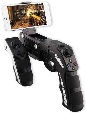 LXWM Wireless Bluetooth Game Gun Controller Joysticker Gamepad para teléfono Celular, Tableta, PC o Smart TV Box: Amazon.es: Deportes y aire libre