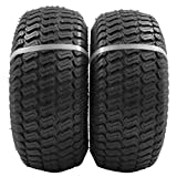 """15x6.00-6"""" Front Tire Assembly Replacement for 100 and 300 Series John Deere Riding Mowers - 2 pack"""