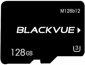 Blackvue Official 128GB Replacement microSD Card (Designed specifically for Dash cams)