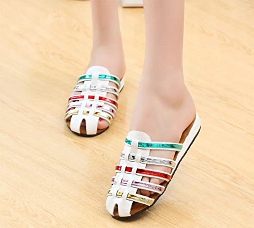 Baotou flache Schuhe Damen Sandalen und Pantoffeln home interior suit