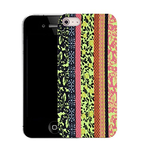 Mobile Case Mate IPhone 5 clip on Silicone Coque couverture case cover Pare-chocs + STYLET - karma pattern (SILICON)