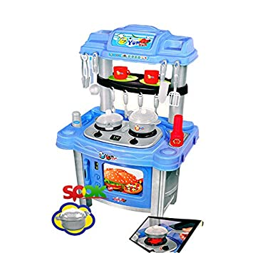 Buy Little Chefs Big Size Kitchen Set For Kids Music And Lights