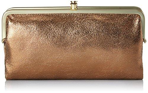 - HOBO Hobo Vintage Lauren Wallet, Copper, One Size