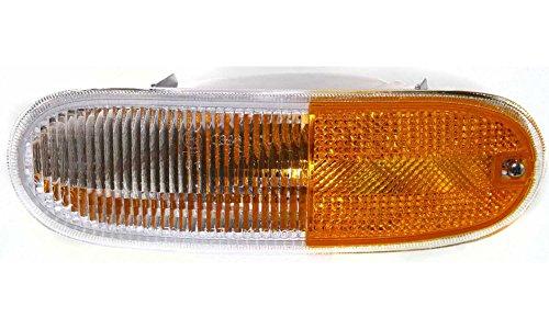 Beetle Signal Light (Evan-Fischer EVA23172012995 Turn Signal Light for Volkswagen Beetle 98-05 LH Lens and Housing Replaces Partslink# VW2520103)