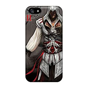 Anti-Scratch Hard Phone Cover For Apple Iphone 5/5s (Hfu11933aqhr) Support Personal Customs Nice Assassins Creed 2 Skin