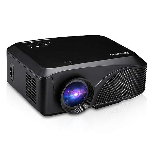 ZXGHS Proyector HD, Proyector Portátil LED / 1200 Lúmenes / 800 ...