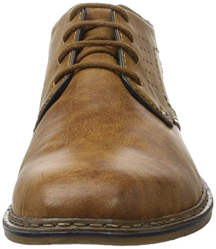 24 Rieker navy peanut Homme Boots Desert mogano Marron B1732 qqrR8xwZ