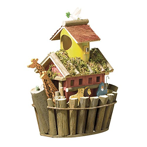 Songbird Valley 31248 Noah`s Ark Birdhouse, Multicolor
