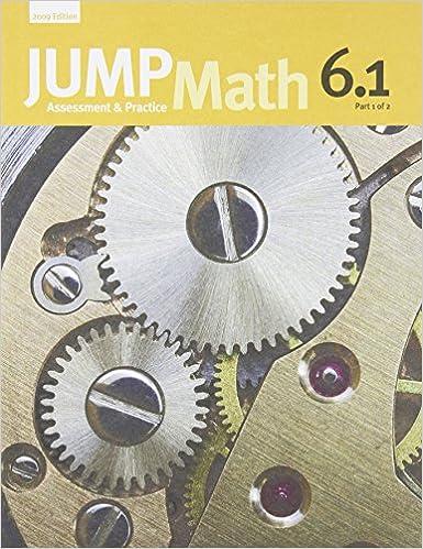 JUMP Math 6 1: Book 6, Part 1 of 2: Amazon ca: John Mighton, JUMP